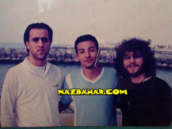 عکس علی کریمی در کنار منصور خواننده لس آنجلسی