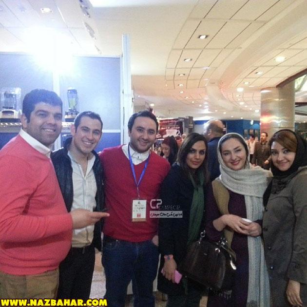هانیه توسلی و دوستانش,جدیدترین عکس های هانیه توسلی بهمن 92|Hanieh Tavassoli