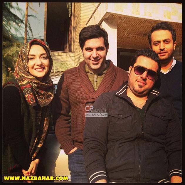 هانیه توسلی و دوستانش,جدیدترین عکس های هانیه توسلی 2014,عکس خوشگل هانیه توسلی