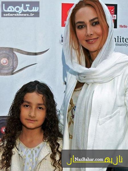 عکس جدید آنا نعمتی همراه دخترش در  آمریکا