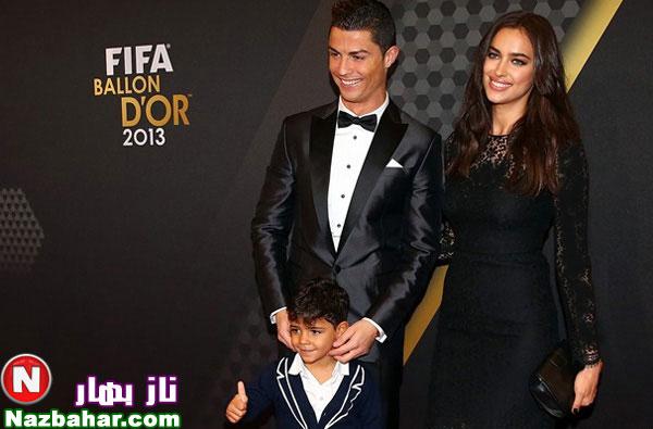 عکس های جدید کریستیانو رونالدو و خانواده اش 2014,عکس همسر رونالدو