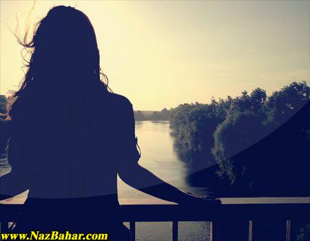 عکس دختر تنها,عکس عاشقانه دختر تنها,دختر غمگین