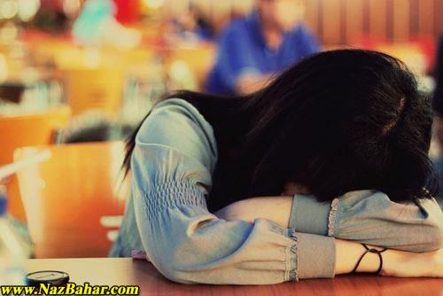 عکس دختر تنها,عکس عاشقانه دختر تنها,دخترک تنهای غمگین