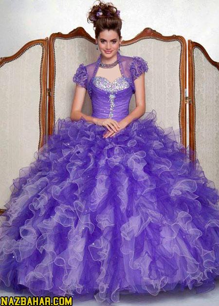 زیباترین مدل لباس عروس حنابندان جدید 2014,زیباترین لباس حنابندون