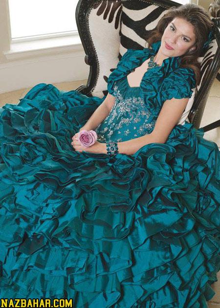 زیباترین مدل لباس عروس حنابندان جدید 2014,زیباترین مدل لباس حنابندون 93