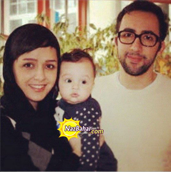 عکس جدید ترانه علیدوستی در کنار دختر و همسرش