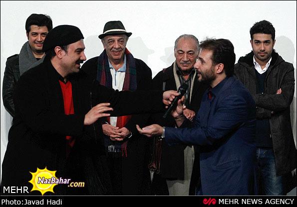 عکس های اکران فیلم معراجی ها جشنواره فیلم فجر 92