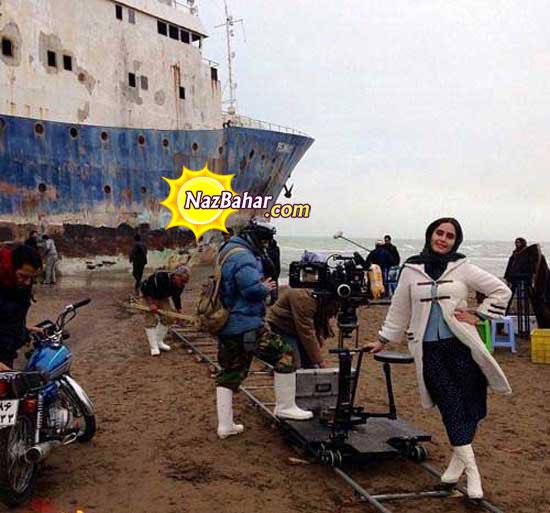 عکس جدید از الناز شاکردوست در ساحل بهمن 92