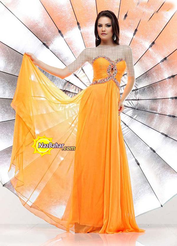 مدل جدید لباس مجلسی دخترانه بلند 93|لباس مجلسی 2014