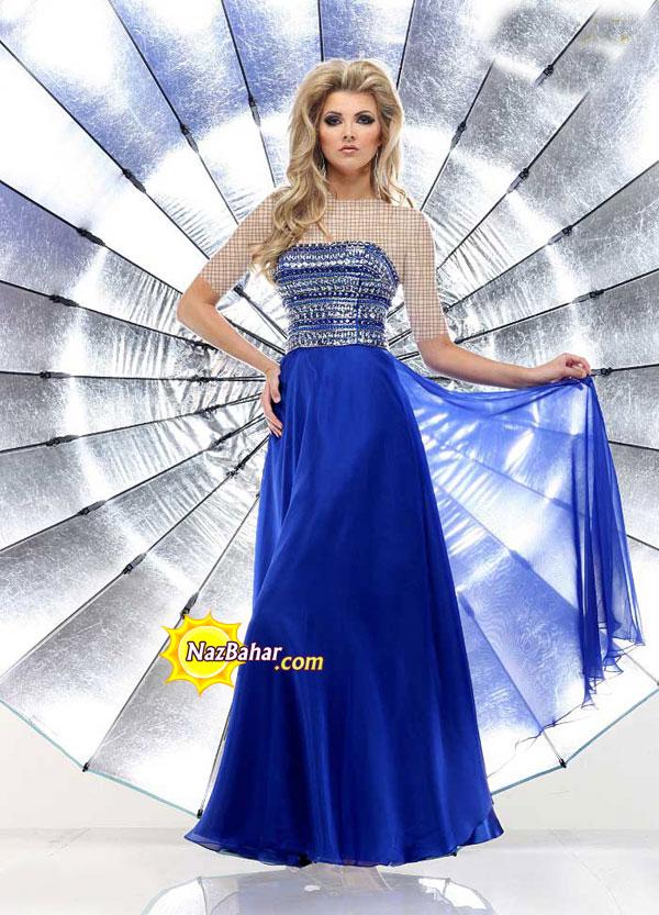 مدل جدید لباس مجلسی دخترانه 93|لباس مجلسی 2014