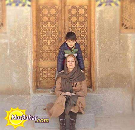دو عکس جدید و دیدنی از شقایق دهقان و پسرش