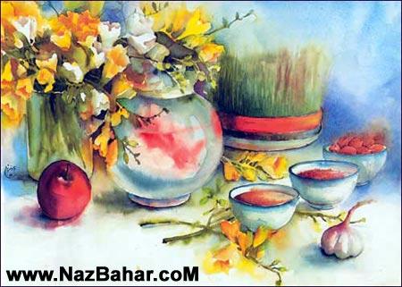 سری جدید اس ام اس های زیبا تبریک عید نوروز 93