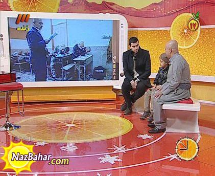 کچل کردن علی ضیا در برنامه زنده ویتامین 3