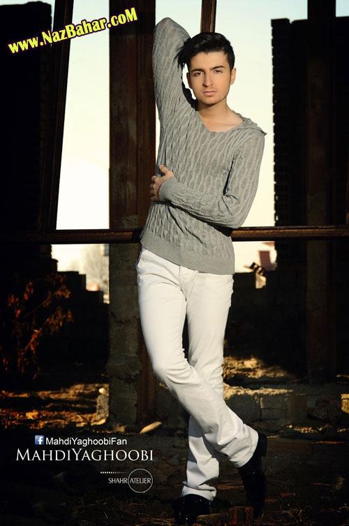 عکس زیباترین پسر مدل ایرانی,عکس مهدی یعقوبی 2014