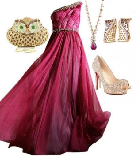 مدل های جدید و زیبای لباس مجلسی 93