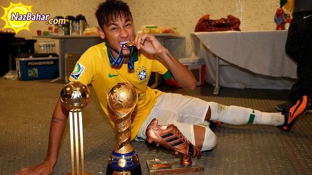 عکس های جدید نیمار در لباس برزیل 2014,Neymar New Photo 2014