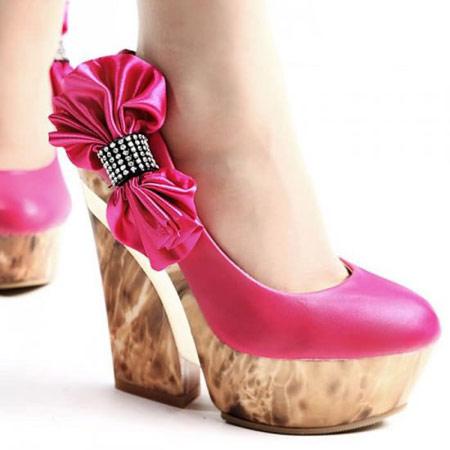 جدیدترین مدل کفش های پاشنه بلند دخترانه 2014