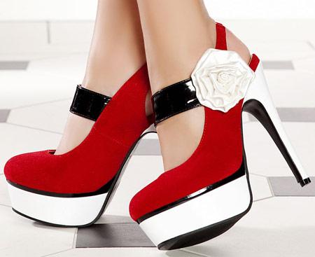 مدل های جدید کفش پاشنه بلند دخترانه 2014