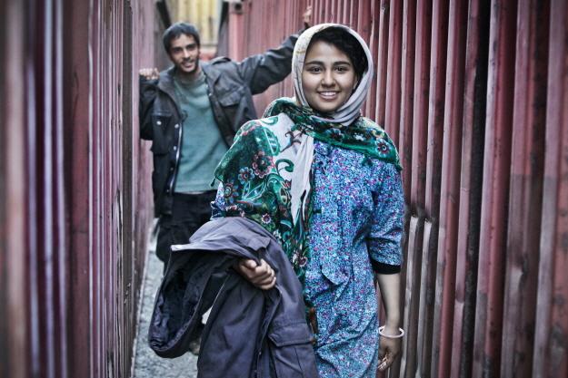 چند متر مکعب عشق,عکس های ساعد سهیلی و حسیبا ابراهیمی,عکس نقش صابر و مرونا چند متر مکعب عشق