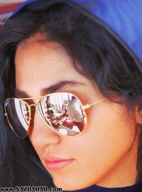 عکس نازلی رجب پور,نازلی رجب پور با عینک زیبا,عکس های خوشگل نازلی رجب پور