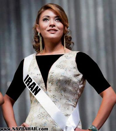 عکس های قدیمی گلسا سرابی در مسابقات زیبایی در سال 2013