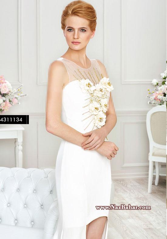 مدل لباس مجلسی 2015 زیبا و شیک,لباس مجلسی سفید