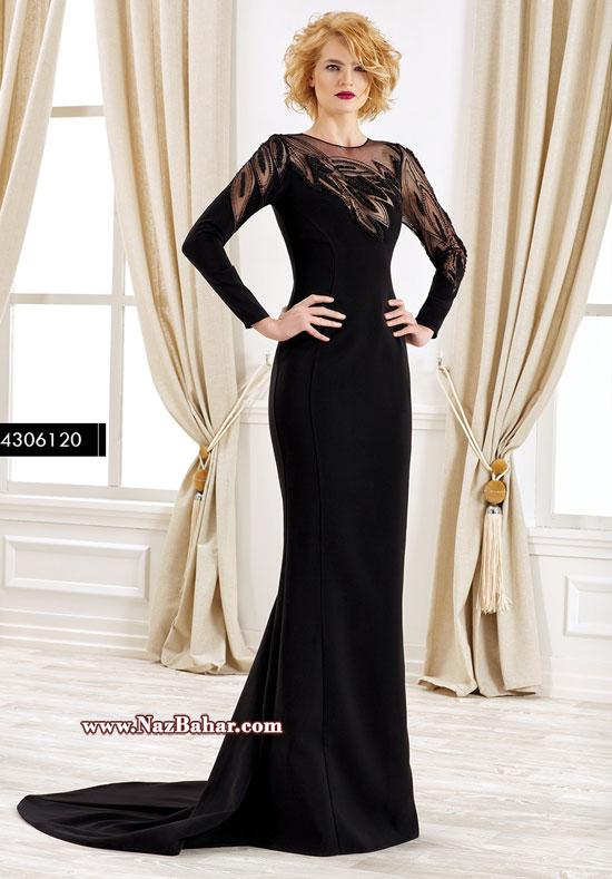 مدل لباس مجلسی 2016,مدل لباس مجلسی گیپور و حریر 2016
