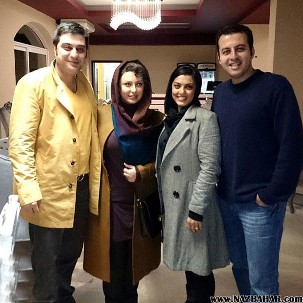 نیوشا ضیغمی,عکس جدید نیوشا ضیغمی و همسرش,جدیدترین عکس نیوشا ضیغمی و آرش پولاد خان