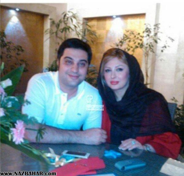 نیوشا ضیغمی,نیوشا ضیغمی و همسرش,نیوشا ضیغمی و آرش پولاد خان