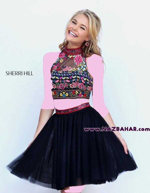 مدل لباس مجلسی کوتاه,لباس مجلسی دخترانه کوتاه جدید 2016