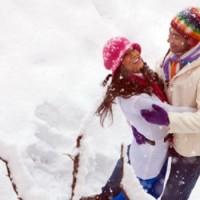 عکس های رمانتیک و عاشقانه برفی زمستانی سری ۲