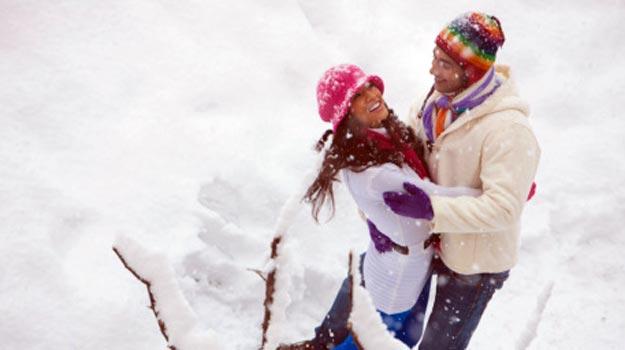 عکس های عاشقانه زمستانی , عکس های عاشقانه برفی