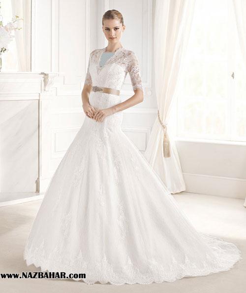 مدل لباس عروس,لباس عروس جدید,مدل لباس عروسی پوشیده