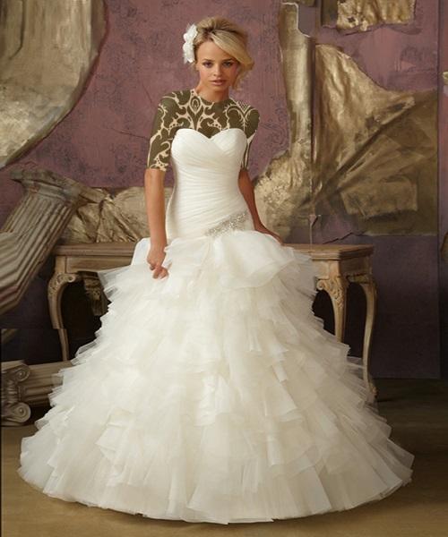 مدل لباس عروس,لباس عروس جدید,مدل لباس عروسی پوشیده 2016مدل لباس عروس,لباس عروس جدید,مدل لباس عروسی پوشیده 2016