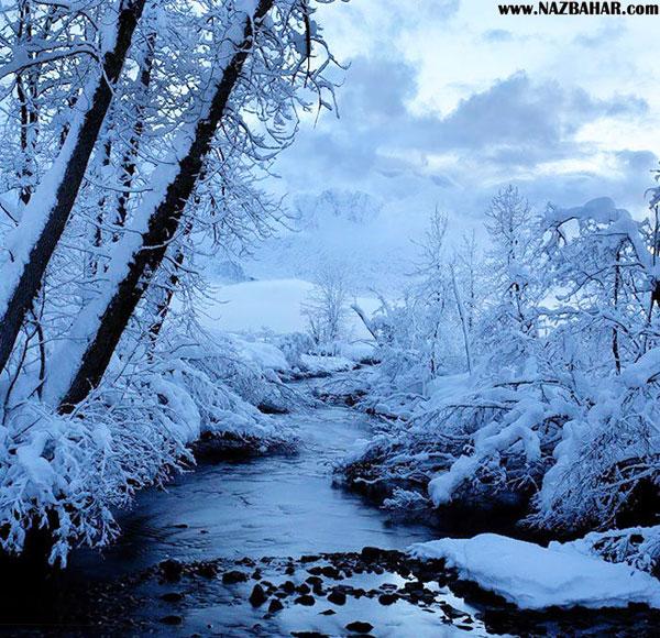 عکس های عاشقانه زمستانی,عکس رمانتیک برف زمستونی