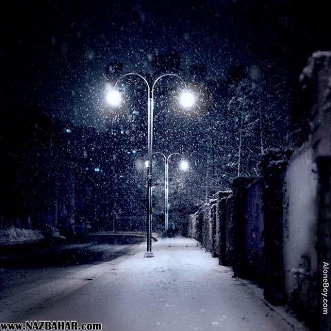 عکس های برفی عاشقانه , عکس های عاشقانه زمستانی