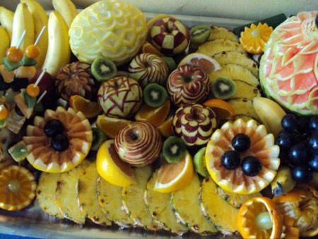 جدیدترین مدل های تزئین میوه شب یلدا چله 93