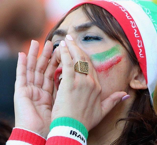 عکسهای داغ تماشاگران ایران جام ملت های آسیا 2015
