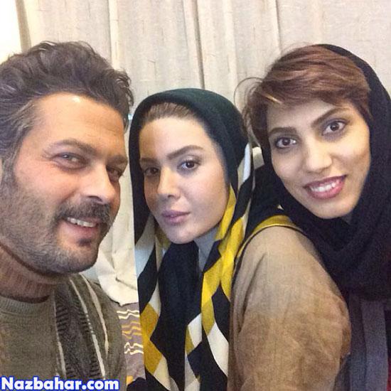 نازنین کریمی,عکس نازنین کریمی و پژمان بازغی,nazanin karimi
