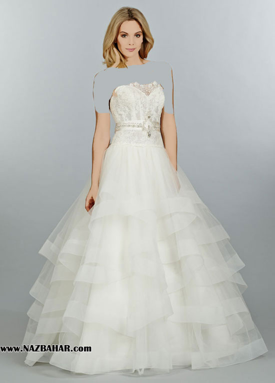 مدل لباس عروس,لباس عروس ,مدل لباس عروس جدید