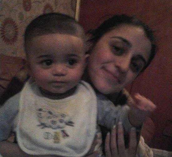 دختری ایرانی که از چنگ داعش گریخت+عکس