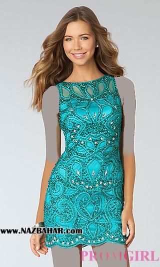 مدل لباس مجلسی 2015,مدل لباس مجلسی کوتاه,لباس مجلسی دخترانه 2015