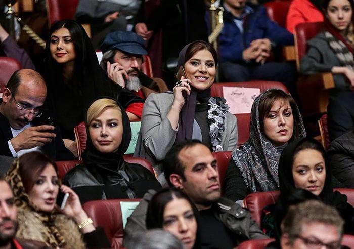 عکسهای بازیگران در جشنواره فیلم فجر 33 سال 93