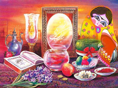 اس ام اس های قشنگ تبریک پیشاپیش عید نوروز 94