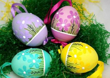 آموزش تزیین تخم مرغ عید برای سفره هفت سین ۹۵