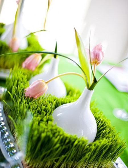 مدل تزیین سبزه عید نوروز ۹۵