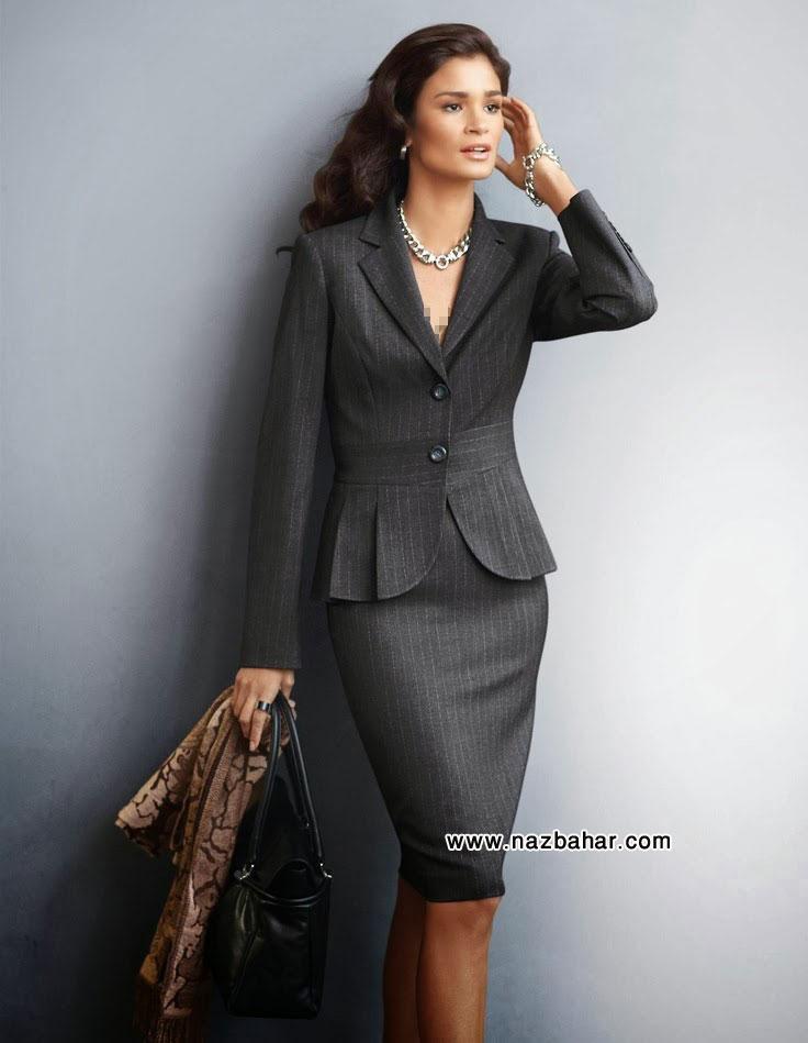 سری جدید مدل کت و دامن 2015 مجلسی شیک