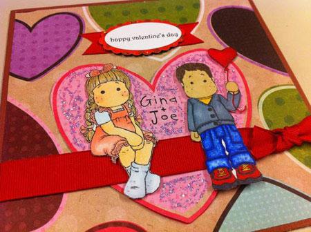 کارت پستال ولنتاین,کارت پستال ولنتاین 2015,کارت پستال قلب عاشقانه