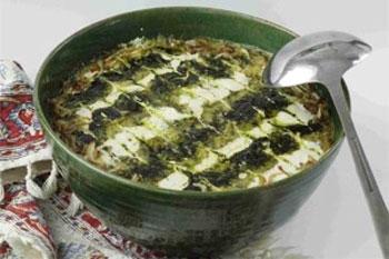طرز تهیه آش قلیه گیلانی