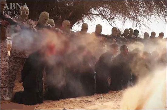 داعش 28 مسیحی را ذبح کرد